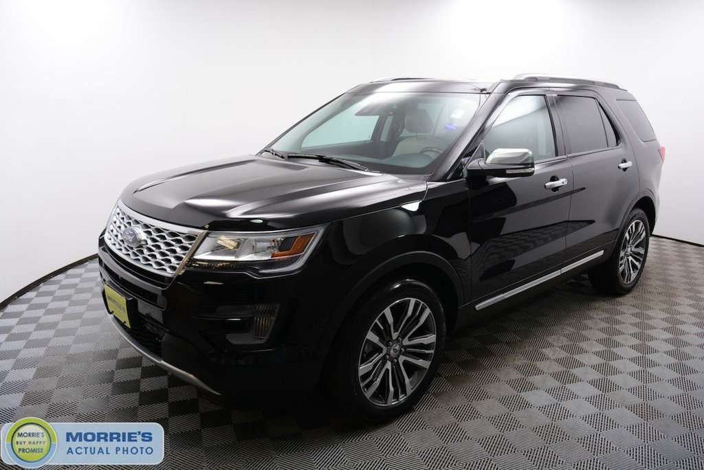 Certified Pre Owned 2017 Ford Explorer Platinum 4WD